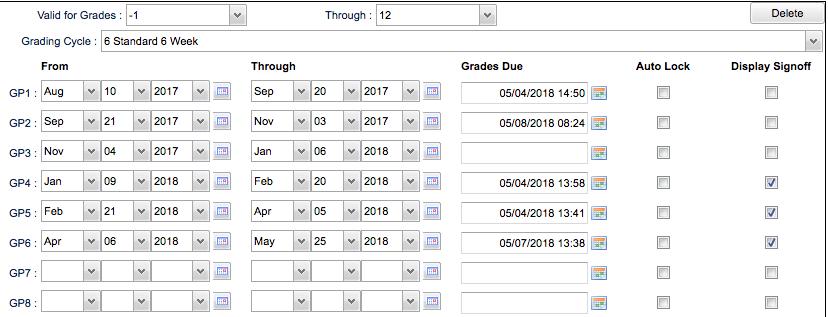 grading periods edgearwiki